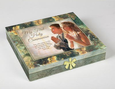 First Communion Deluxe Gift Set, Girl  -     By: Kathy Fincher