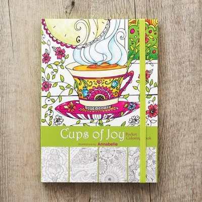 Cups Of Joy, Adult Coloring Book  -