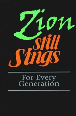 Zion Still Sings! Pew Edition   -