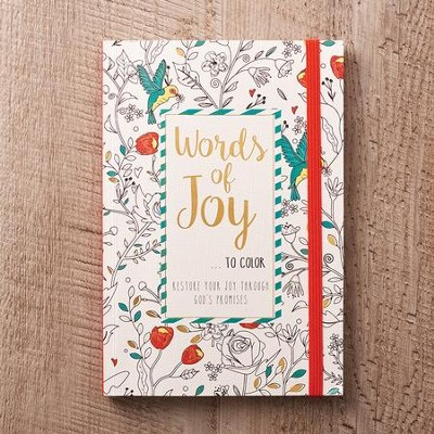 Words Of Joy Coloring Book  -
