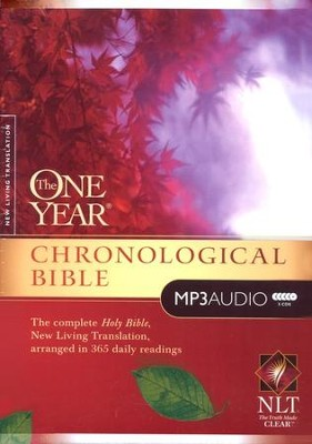 The NLT One-Year Chronological Bible on MP3 CD   -     Narrated By: Todd Busteed     By: Narrated by Todd Busteed