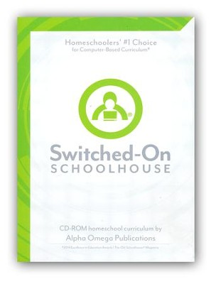 SOS Switched On Schoolhouse Foundations for Living 2016 Homeschool Software NEW!