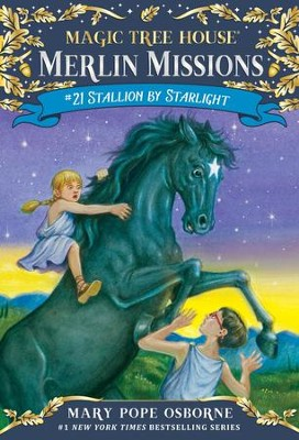 Magic Tree House #49: Stallion by Starlight - eBook  -     By: Mary Pope Osborne & Sal Murdocca (Illustrator)