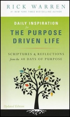 Purpose Driven Life Daily Inspirations  -     By: Rick Warren