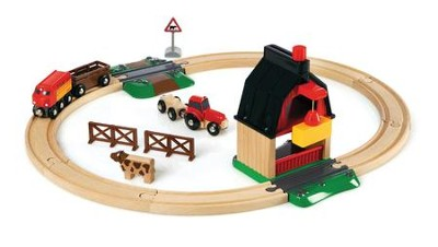Brio, Farm Railway Set  -