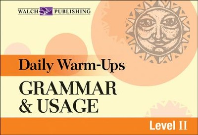 Digital Download Daily Warm-Ups: Grammar & Usage Level II - PDF Download  [Download] -