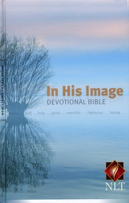 NLT In His Image Devotional Bible, Hardcover  -     By: Bright Media Foundation