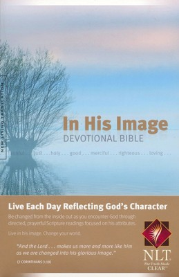 NLT In His Image Devotional Bible, Softcover  -     By: Bright Media Foundation