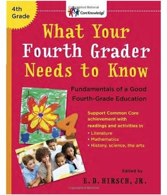 What Your Fourth Grader Needs to Know Paperback  -