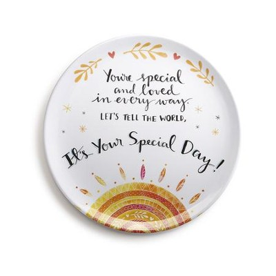 You're Special Giving Plate  -