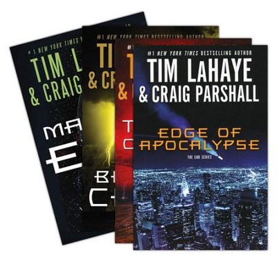 The End Series, Volumes 1-4 (softcover)  -     By: Tim LaHaye, Craig Parshall