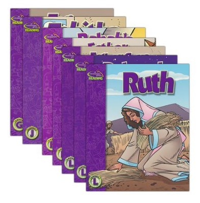 A Reason for Guided Reading: Intermediate Readers Set - Women of the Bible (7 Books)  -