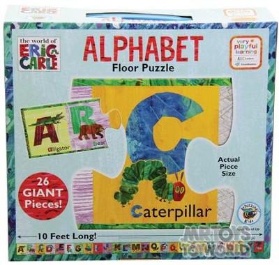 The World Of Eric Carle Alphabet Floor Puzzle Christianbookcom
