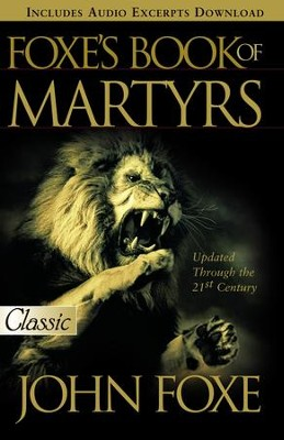 Foxes Book of Martyrs - eBook  -     By: John Foxe