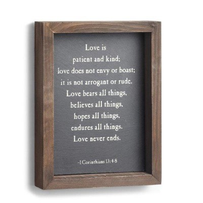Love Is Patient and Kind, Wall Art  -