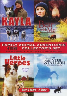 Family Animal Adventures Collector's 2 DVD Set   -