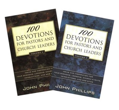 Devotions for Pastors & Church Leaders-2 Volumes Pack   -     By: John Phillips