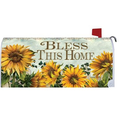 Bless This Home, Mailbox Cover  -     By: Ed Wargo