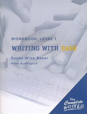 Writing with Ease - Level One, Workbook   -     By: Susan Wise Bauer