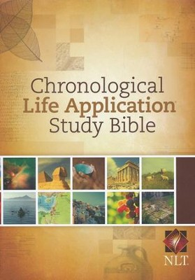 NLT Chronological Life Application Study Bible, Hardcover  -
