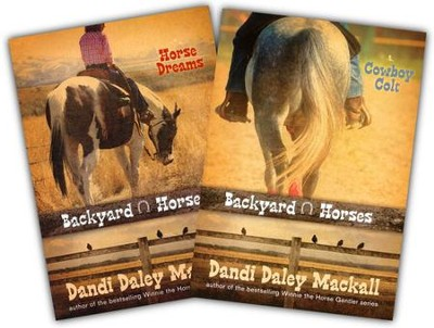 Backyard Horses Series, Volumes 1 & 2  -     By: Dandi Daley Mackall
