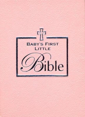 Baby Girl's First Little Bible, Pink  -