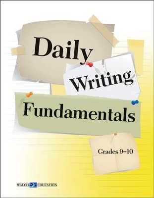 Digital Download Daily Writing Fundamentals, Grades 9-10 - PDF Download  [Download] -