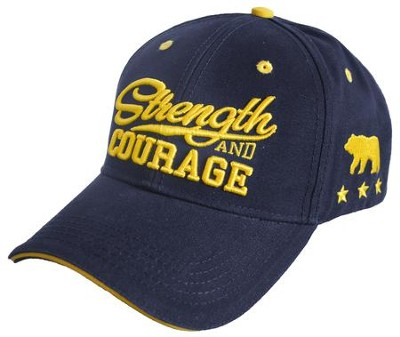 Strength and Courage, Bear Cap, Navy  -