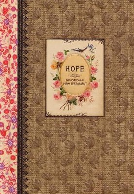 NLT, Vintage Gift Collection: Hope Devotional New Testament (w/Psalms and Proverbs)  -