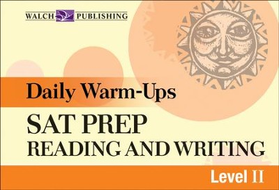 Digital Download Daily Warm-Ups: SAT Prep Reading and Writing Level II - PDF Download  [Download] -