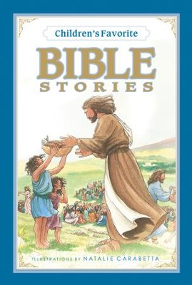 Children's Favorite Bible Stories - eBook  -     By: Natalie Carabetta(Illustrator)     Illustrated By: Natalie Carabetta