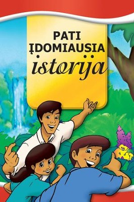 Most Important Story Ever Told, Lithuanian Edition   -     By: Dr. David Hunt
