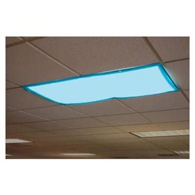Classroom Light Filters Tranquil Blue, Set of 4   -