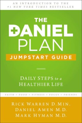 The Daniel Plan Guide, Booklet: 40 Days to a Healthier Life  -     By: Rick Warren, Daniel Amen M.D., Mark Hyman M.D.