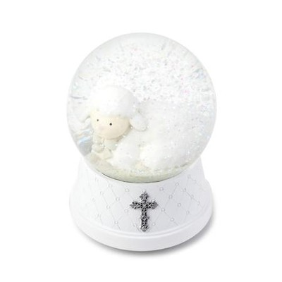 Jesus Loves Me, Musical Water Globe  -
