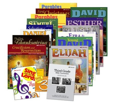Abeka Grade 3 Homeschool Bible Curriculum Materials Kit  -