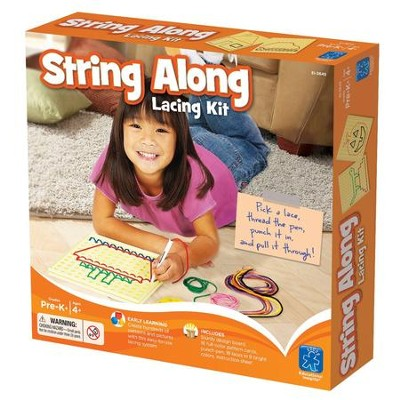 String-Along Lacing Kit and Pattern Cards   -