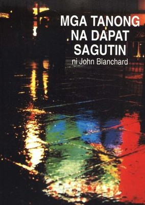 Ultimate Questions Brochure: Tagalog   -     By: John Blanchard