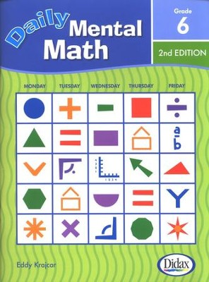 Daily Mental Math, Grade 6, 2nd Edition   -