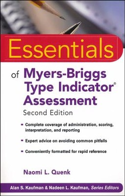 Essentials of Myers-Briggs Type Indicator Assessment, Second Edition  -     By: Naomi L. Quenk