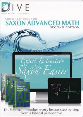 DIVE CD-Rom for Saxon Advanced Mathematics 2nd Edition    -