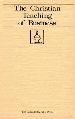 Christian Teaching of Business   -
