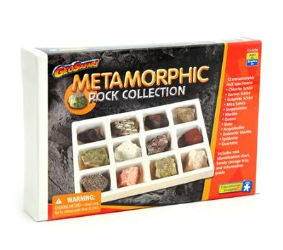 Metamorphic Rock Collection   -