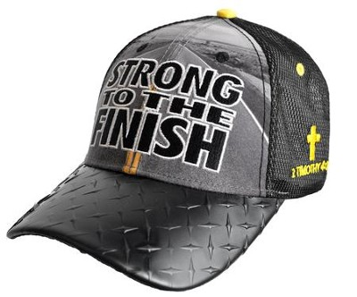 Strong To the Finish Cap, Black  -