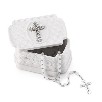 This Child, Keepsake Box with Rosary  -
