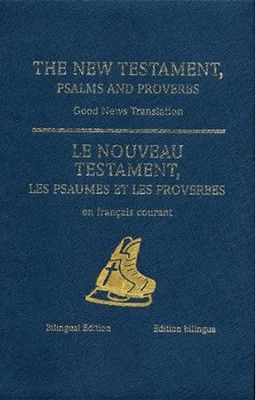 Hockey Ministries: French/English New Testament with Psalms and Proverbs  -