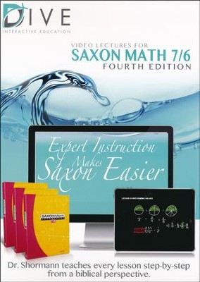 Saxon Math 7/6 4th Edition DIVE CD-Rom  -