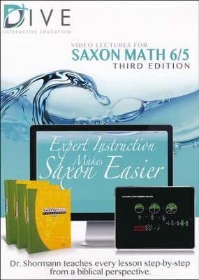 Saxon Math 65 3rd Edition DIVE CD-Rom  -