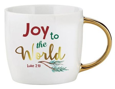 Joy to the World, Luke 2:10, Mug  -