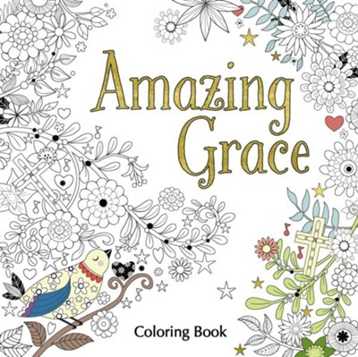Amazing Grace Coloring Book  -